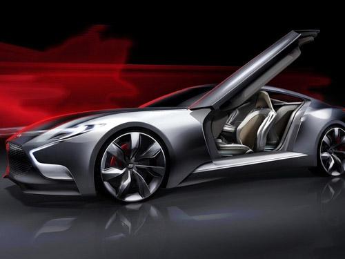 В Сеуле Hyundai покажет роскошное спорткупе