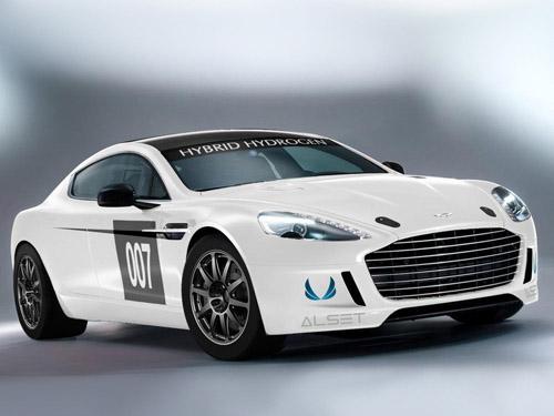 Aston Martin выпустил гоночный болид на водороде