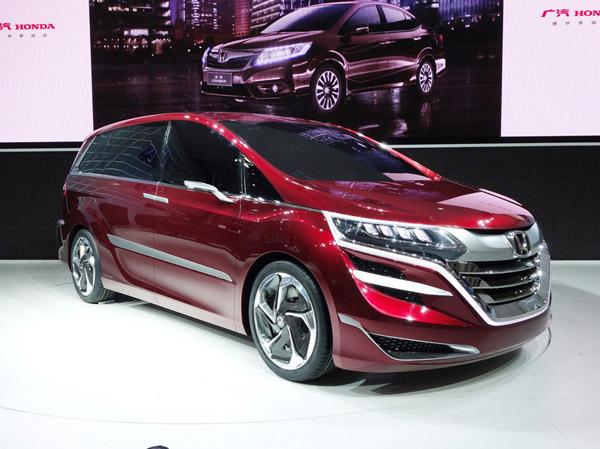 Honda представила в Китае концептуальный минивэн