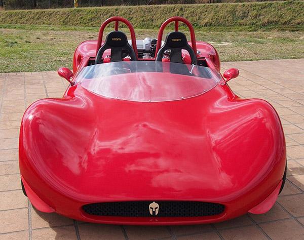 Австралийцы построили спорткар Spartan V