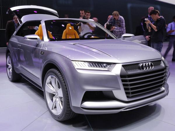 Audi выпустит самый большой внедорожник