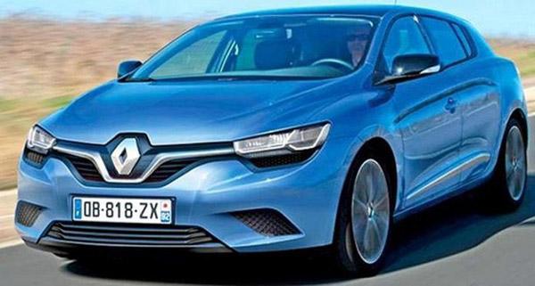 Во Франкфурте покажут новый Renault Megane
