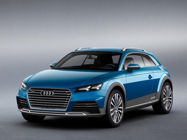 Audi покажет в Америке очередное внедорожное купе