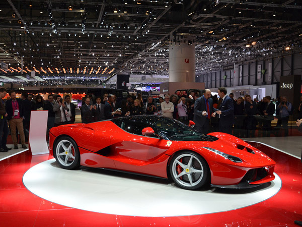 Ferrari создает гоночный болид