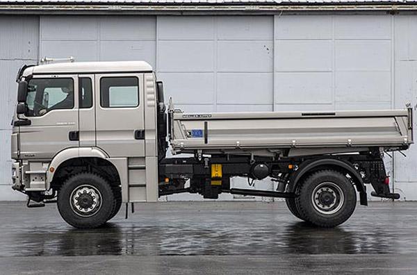 MAN представил серийный грузовик TGM с двухрядной кабиной