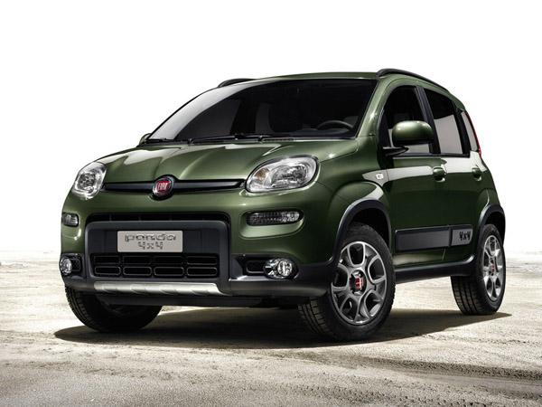 Fiat выпустит полноприводный кроссовер Fiat Panda XL