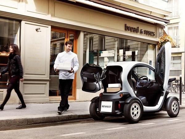 Renault выпустила тихоходный электрофургон
