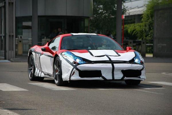 Ferrari выпустит «заряженную» 458 Italia