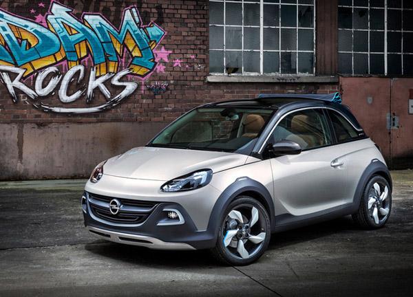 Opel готовит к конвейеру кабриолет Adam