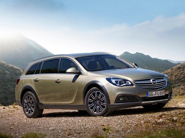 Представлена «внедорожная» версия Opel Insignia