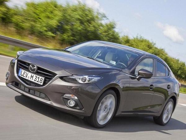 Опубликованы официальные фото седана Mazda3