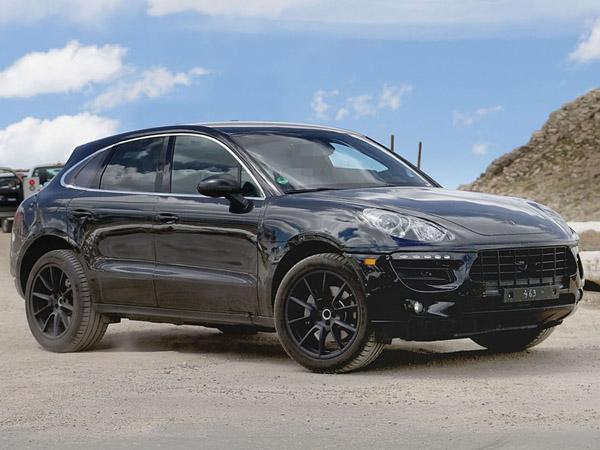 Через год в продаже появится Porsche Macan