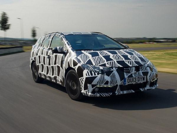 Во Франкфурте покажут универсал Honda Civic