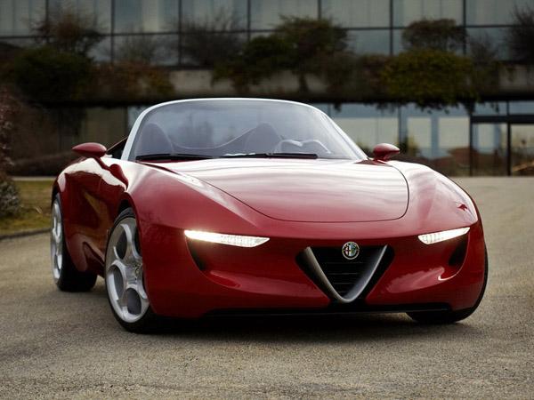 Родстер Alfa Romeo Spider будет выпущен в 2015 году