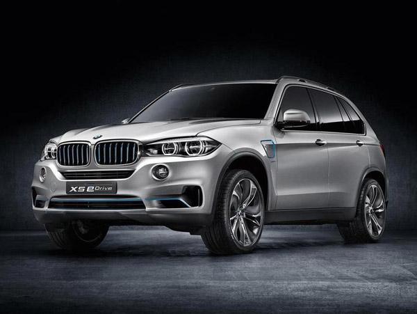 Рассекречена гибридная модификация BMW X5