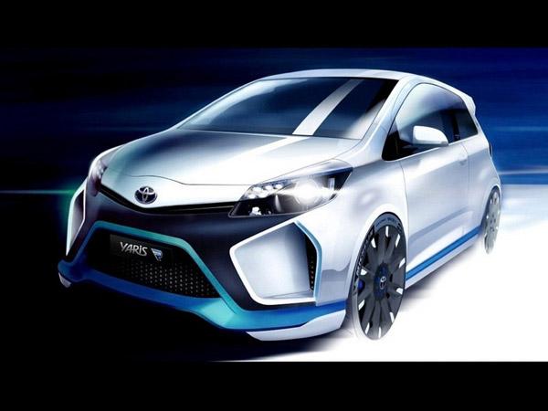 Toyota представит свой новый концепт-кар Hybrid-R