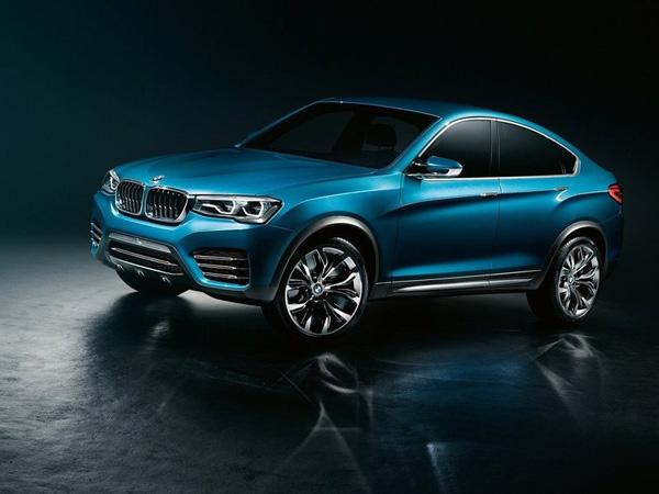 В марте 2014 года будет показан новейший кроссовер BMW X4