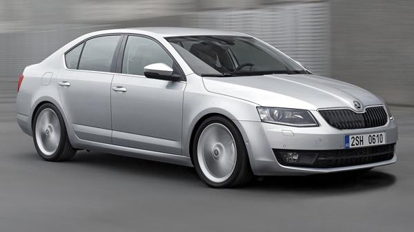 В Женеве покажут четырехдверное купе Skoda Octavia