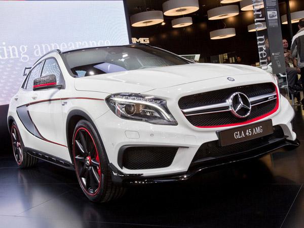 Mercedes показал в Детройте мощный компактный кроссовер