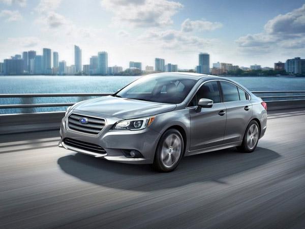 В Чикаго показали новую Subaru Legacy
