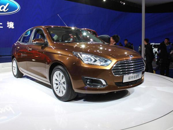 В Пекине состоялась мировая премьера внедорожника Ford Everest и седана Ford Escort