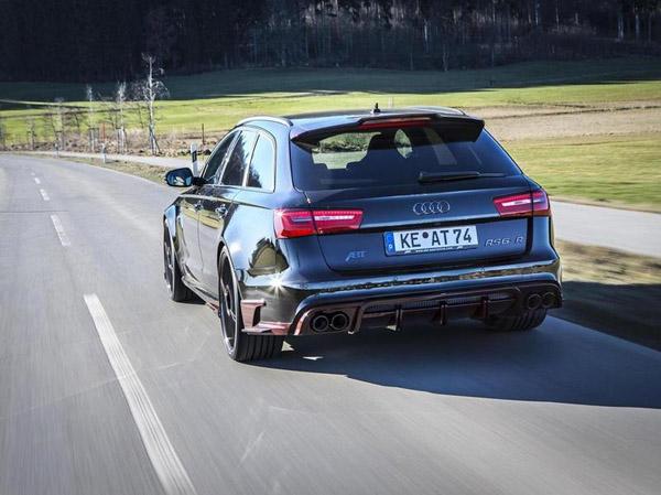Audi готовит очень мощную версию RS6