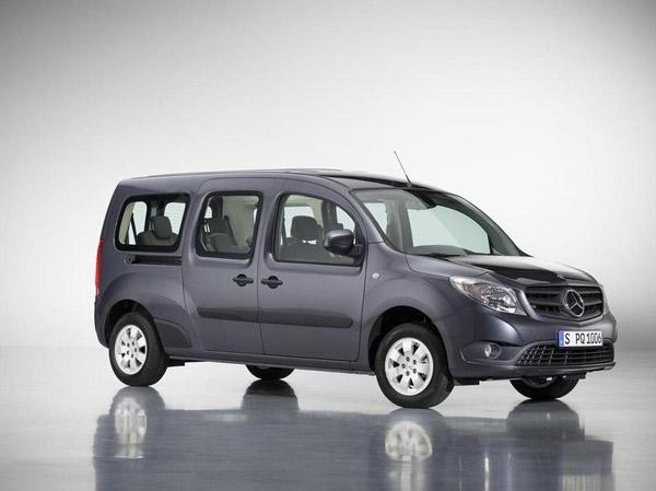Mercedes разработал длиннобазную версию вэна Citan