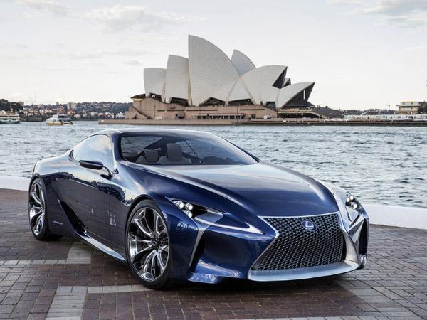 Серийный Lexus LF-LC будет похожим на концепт