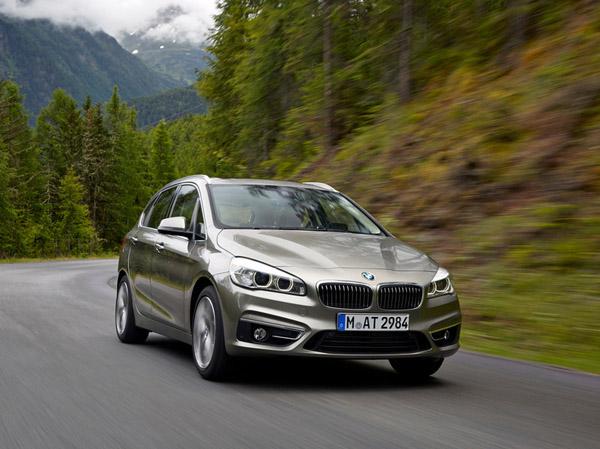 Компактвэн BMW станет гибридом