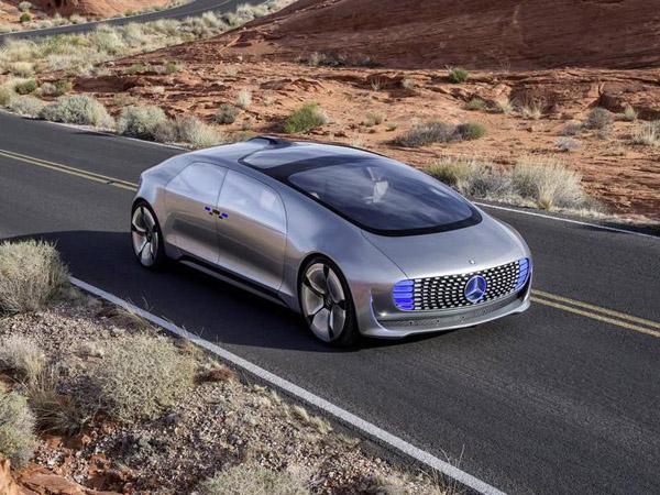 Mercedes-Benz представил свой беспилотный концепт-кар