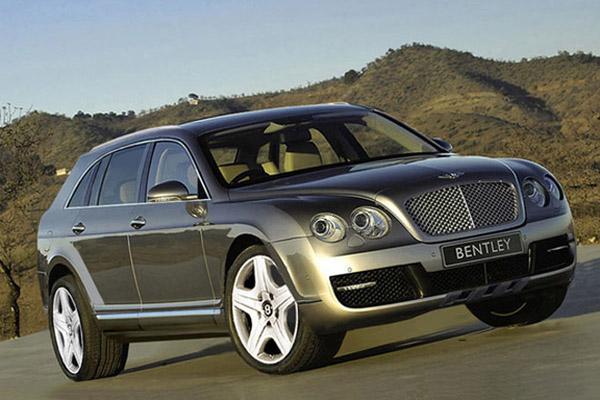Кроссовер Bentley получит электрический наддув дизеля