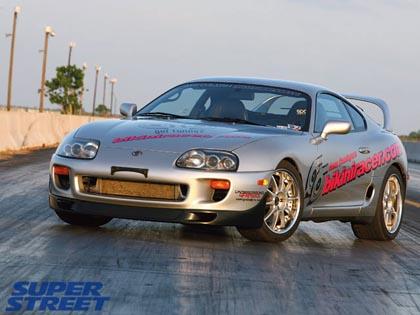 6bsupra 1994 Toyota Supra Turbo: гонщик в бикини