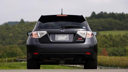 8sub4 Чего ждать от Subaru Impreza WRX STI 2008?