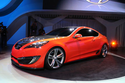 hc1 Hyunday Concept Genesis Coupe