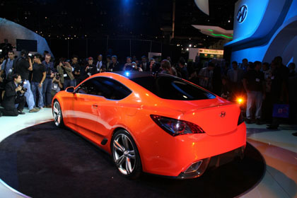hc2 Hyunday Concept Genesis Coupe