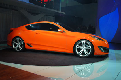 hc3 Hyunday Concept Genesis Coupe