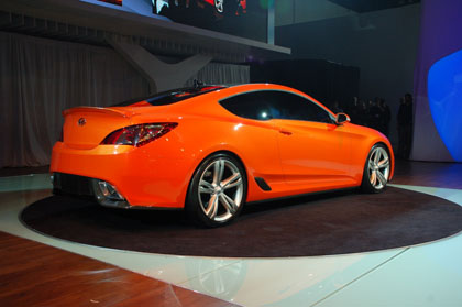 hc5 Hyunday Concept Genesis Coupe