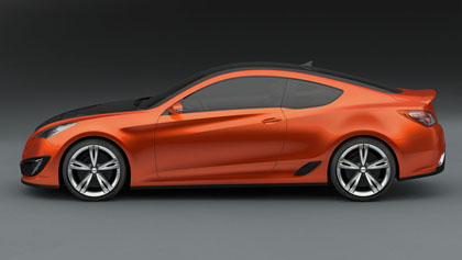hc6 Hyunday Concept Genesis Coupe