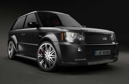 rs3 Range Rover Sport Coupe от LSE Design