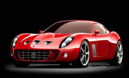 vandenbrink1 5 самых уникальных Ferrari