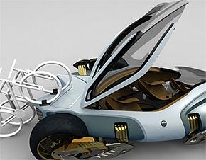 2 Изобретена машина для мегаполисов