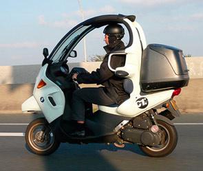 14 BMW планирует выпустить трехколесный скутер