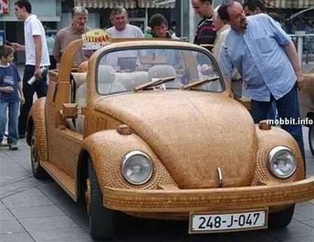 timberbeetle_1 Деревянный Volkswagen Жук
