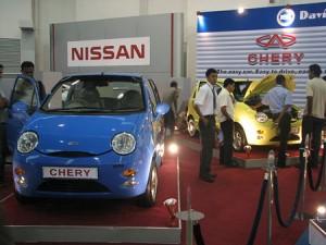 cherry-300x225 Китайцы создали автомобиль стоимостью 5560 долларов, работающий исключительно на солнце