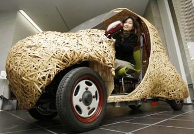 92-400x277 В Японии собрали бамбуковый электромобиль