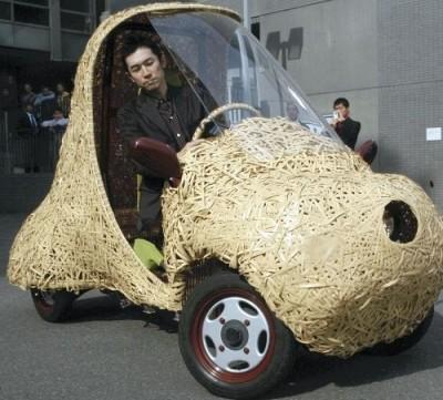 95-400x361 В Японии собрали бамбуковый электромобиль