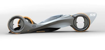 kaanconcept-side-400x192 Mazda разработала новый концепт Mazda KAAN специально для участия в гонках