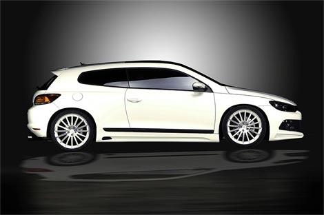 11 Ателье JE Design представило спорт-пакет для VW Scirocco