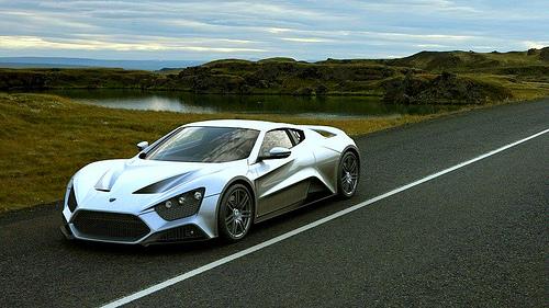 16 В Дании создан суперкар Zenvo, пересекающий страну за 18 минут