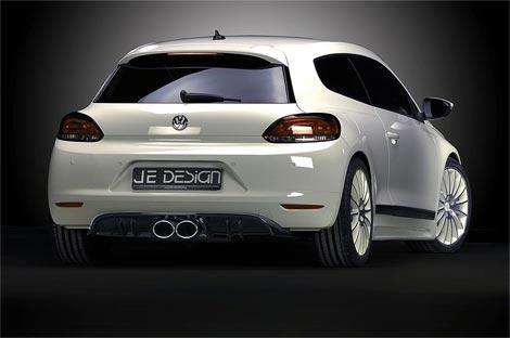21 Ателье JE Design представило спорт-пакет для VW Scirocco